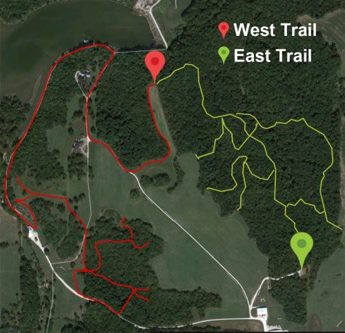 East and West Trail Maps