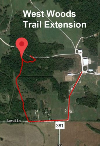 West Woods Trail Extension